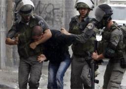 الاحتلال الإسرائيلي يعتقل 18 فلسطينيًا في الضفة الغربية