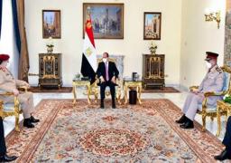 الرئيس السيسي يؤكد موقف مصر الثابت بدعم الجهود للتوصل إلى حل سياسي شامل للأزمة اليمنية