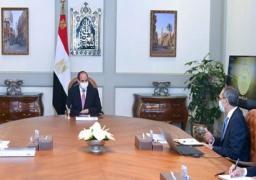 الرئيس السيسي يوجه بالاستمرار بتوفير الموارد المالية اللازمة لتطوير قطاع الاتصالات