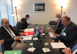 مباحثات مصرية – فرنسية على مستوى وزيري الخارجية بنيويورك