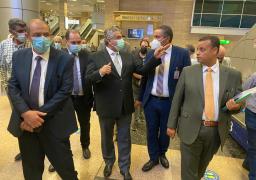 صور..اللجنة العليا للتفتيش الأمني والبيئي بالمطارات تتفقد مطار القاهرة