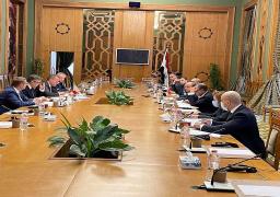 بالصور..انعقاد جولة مشاورات سياسية بين مصر والتشيك