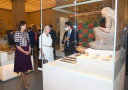وزيرة الهجرة ونظيرتها الهولندية تجريان زيارة إلى متحف الحضارة بالفسطاط