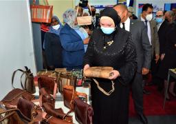وزيرة التجارة تفتتح فعاليات الدورة الـ 54 لمعرض القاهرة الدولى
