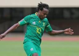 استبعاد بيرسى تاو لاعب الاهلي من قائمة منتخب جنوب إفريقيا