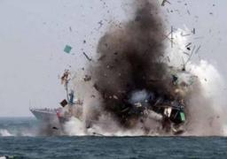 التحالف العربي يعلن تدمير زورق حوثي مفخخ في جزيرة كمران قبل تنفيذه هجوم وشيك