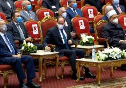 الرئيس السيسي يشهد احتفال وزارة الأوقاف بالمولد النبوي الشريف