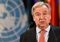 جوتيريش : الالتفاف خلف قيم الأمم المتحدة وسيلة ناجحة لعالم يتمتع بالسلام والتنمية