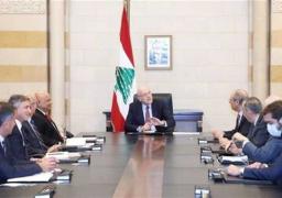 رئيس الوزراء اللبناني يبحث تحريك الإصلاحات بمجالي الطاقة والمياه مع وفد من البنك الدولي