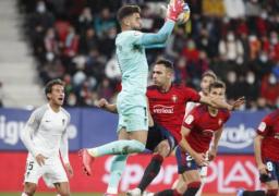 ريال مدريد يستدرج أوساسونا اليوم لخطف صدارة الدورى الإسبانى