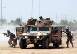 قوات الأمن العراقية تعلن تدمير وكر لتنظيم داعش بداخله مواد معدة للتفجير