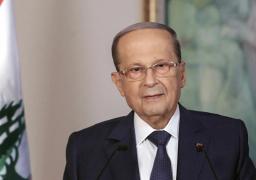 الرئيس اللبناني يبحث ترسيم الحدود البحرية مع إسرائيل مع الوسيط الأمريكي الجديد