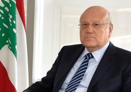 رئيس الوزراء اللبنانى يتسلم دعوة للمشاركة بمؤتمر الأمم المتحدة ببريطانيا