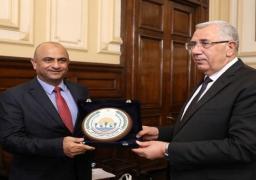 وزير الزراعة يبحث مع أمين عام وزارة الزراعة الأردني أفاق التعاون بين البلدين