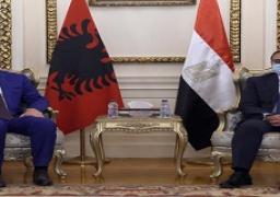 رئيسا الوزراء المصري والألباني يترأسان جلسة مباحثات موسعة لتعزيز علاقات التعاون بين البلدين