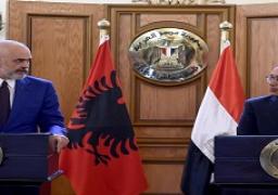رئيسا الوزراء المصري والألباني يعقدان مؤتمرا صحفيا عقب جلسة مشاورات موسعة