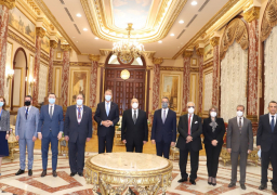 رئيس مجلس الشيوخ يستقبل رئيس رومانيا