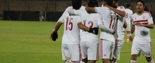 الزمالك يفوز على الأسيوطى 3 / 1 ويرتقى لصدارة الدوري الممتاز
