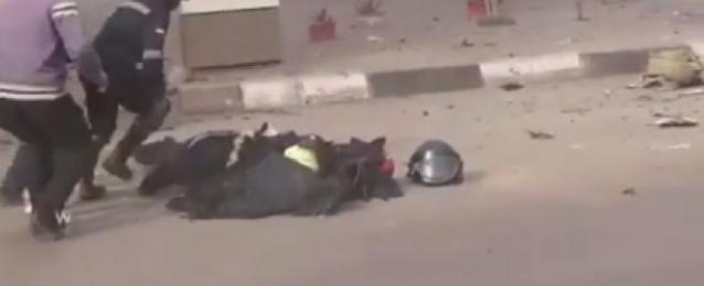 تحقيقات النيابة تكشف قيام الجناة بتفجير قنبلة قسم الطالبية عن بُعد أثناء قيام الشهيد بتفكيكها