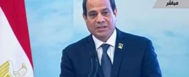 فيديو : كلمة الرئيس السيسي الختامية فى مؤتمر الحوار الشهري الأول للشباب