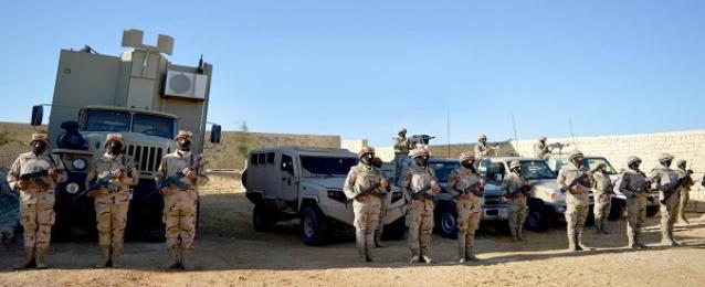 أبرز جهود قوات حرس الحدود فى حماية حدود البلاد خلال عام 2016