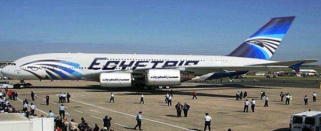 طائر يتسبب في هبوط طائرة مصر للطيران اضطراريا بمطار الأقصر