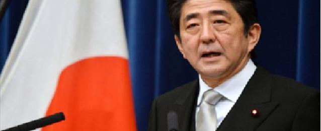 رئيس وزراء اليابان يتعهد بتقديم الدعم الكامل لمصر