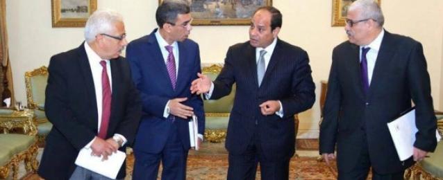 في حواره مع رؤساء الصحف القومية .. السيسي يؤكد التنسيق والتعاون بين مصر والسعودية يتم على أعلى درجة