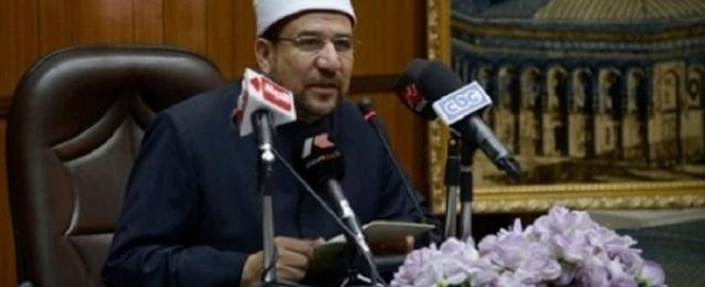 وزير الأوقاف: استرداد أراضي الدولة واجب شرعي