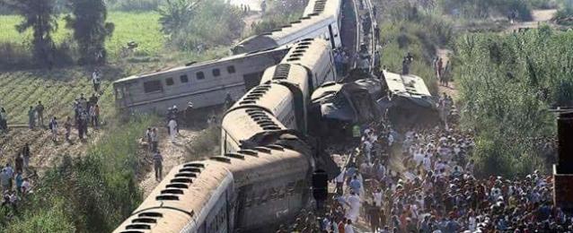 النائب العام يشكل لجنة من الهيئة الهندسية بالجيش والرقابة الإدارية لإعداد تقرير شامل حول حادث قطارى الإسكندرية