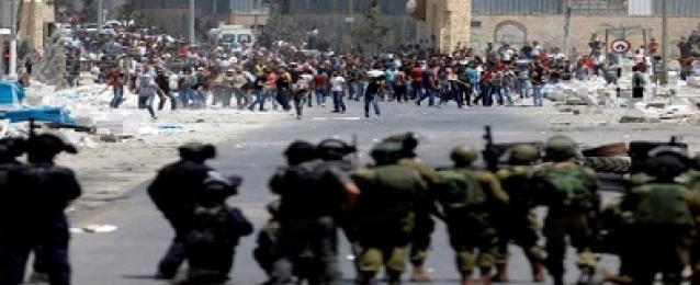 الاحتلال اﻹسرائيلي يقمع مسيرة سلمية منددة بقرار ترامب في بيت لحم ويعتقل فلسطينيين