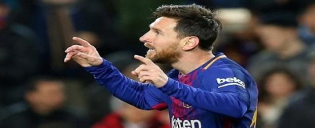 ثنائية ميسي تقود برشلونة لدور الثمانية في كأس اسبانيا