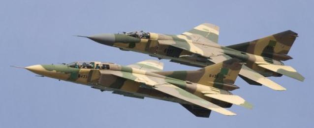 الجيش الليبى يستهدف مواقع عسكرية للجماعة المسلحة بمدينة سرت