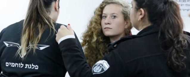 المحكمة العسكرية الاسرائيلية تبدأ اليوم محاكمة الشابة الفلسطينية عهد التميمى
