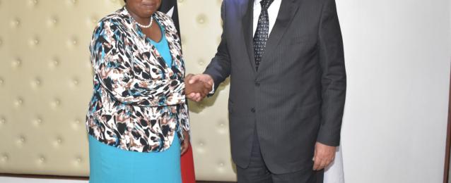 وزير الخارجية يبحث ونظيرته الكينية العلاقات الثنائية والقضايا الإقليمية