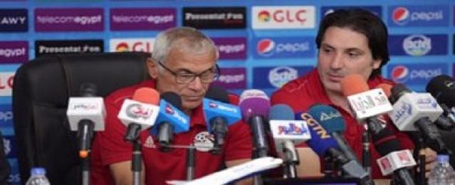 كوبر يختار 11 لاعبا محليا للانضمام لمعسكر منتخب مصر في سويسرا استعدادا للمونديال