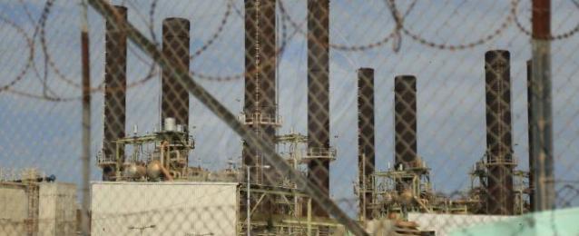 توقف محطة كهرباء غزة عن العمل لنقص الوقود