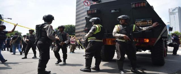 """الشرطة الإندونيسية: منفذو الهجوم على مركز الشرطة ينتمون لـ""""داعش"""""""