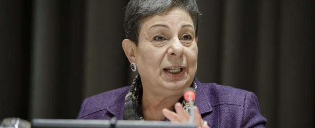 عشراوي: افتتاح جواتيمالا سفارتها بالقدس أمر خطير ومستفز