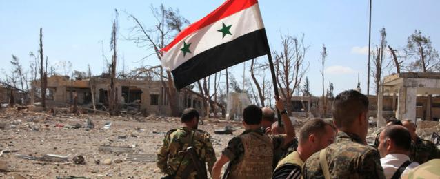 الجيش السوري يستعيد سيطرته على 65 مدينة وقرية بحمص وحماة