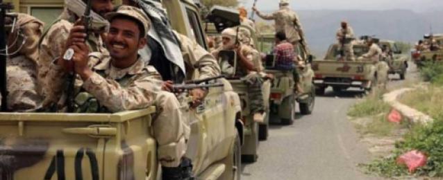 الجيش اليمنى يحقق تقدماً  في تعز