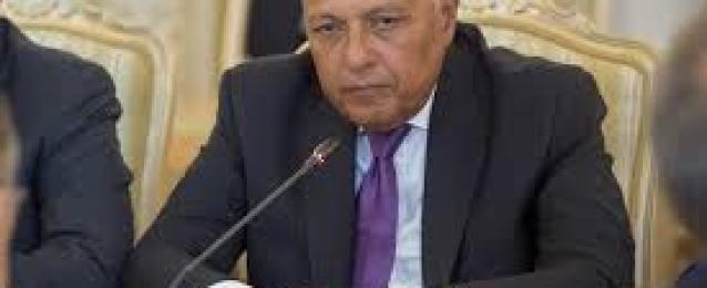 شكرى يعود للقاهرة بعد مشاركته باجتماعات إصلاح المفوضية الإفريقية