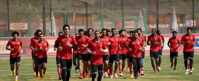 تدريبات خاصة للاعبي الأهلي الغائبين عن رحلة تونس