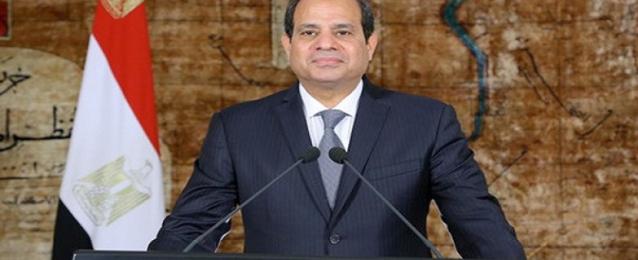 الرئيس السيسى يصدر عدة قرارات جمهورية