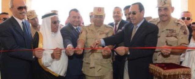 القوات المسلحة تنشئ تجمعاً حضارياً بوسط سيناء بافتتاح قرية نموذجية