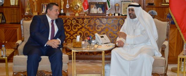 هيكل يبحث مع وزير الإعلام الكويتي سبل التعاون الإعلامي