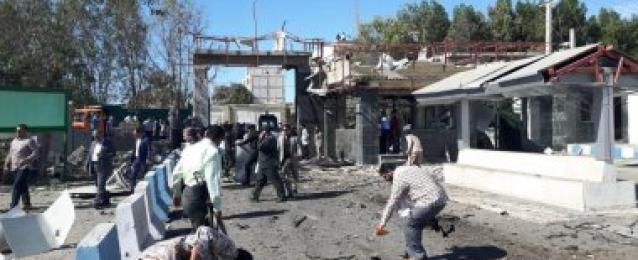 اصابة  27 شخصا  اثر انفجار استهدف مركز شرطة مدينة تشابهار جنوب شرق ايران