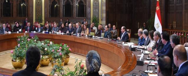 الرئيس السيسى يوجه بإقامة مجمع مميكن يضم مقرات المصالح الحكومية بالوادي الجديد