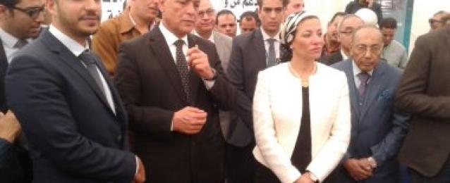 وزيرة البيئة: 6.8 مليون يورو تكلفة مشروع إعادة تدوير البطاريات بالمنوفية