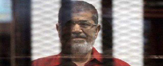 """تأجيل إعادة محاكمة """"مرسي"""" وآخرين في """"اقتحام السجون"""""""